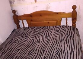 Single Bed, Solid Wood