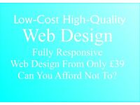 Web Design | High Quality - Low Cost Mobile Responsive Website Design