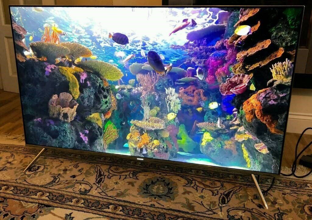 49in Samsung SUHD 4K QUANTUM DOT HDR Smart LED TV WI-FI Freeview HD & FreeSat HD [SPARES/REPAIR]
