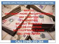 wanted laptops and phones for cheap