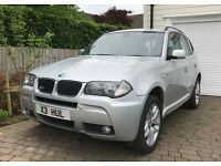 BMW X3 M SPORT (2007) 2.0D DIESEL - X3 PRIVATE PLATE INCLUDED - 97000 miles - 1year MOT