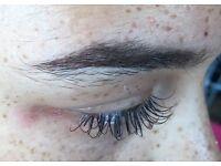 Semi- Permanent Eyelash Extensions