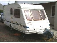 2003 Sterling Europa 460 Caravan 2 Berth with Motormover