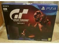 Playstation 4 bundle with Gran Turismo Sport