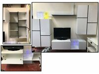 Living room set- 4 pieces- in high gloss-delivery available-perfect condition!