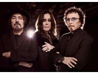 BLACK SABBATH - GOLD CIRCLE STANDING - GENTING ARENA - THURS 02/02 - £130!