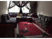 Moroccan Living Room Sofa Set