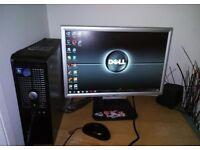 DELL OPTIPLEX DUAL CORE ,WINDOWS7,OFFICE DVD,WIFI,READY TO USE FROM E10 5PW