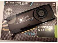 EVGA GTX670 FTW 2GB