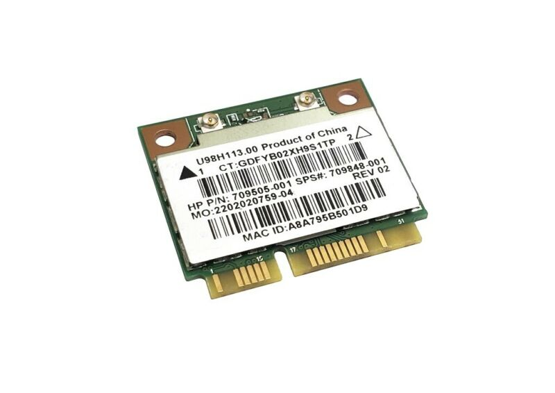 REALTEK RTL8188EE 802.11BG/N LAPTOP WIRELESS MINI PCI-E WIFI CARD 709505-001 USA