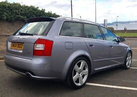 AUDI A4 1.8T AVANT ESTATE (190 BHP) QUATTRO S LINE -FSH, HIGH SPEC, LEATHER, ALLOYS, NEW TIMING BELT
