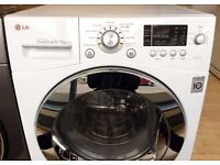 LG Direct Drive 9KG/6KG, White, Digital WASHER DRYER + 3 Month Guarantee + FREE LOCAL DELIVERY