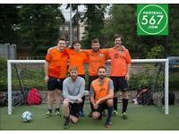 BEST PRICES IN LONDON- HACKNEY CENTRAL 5-ASIDE FOOTBALL LEAGUE WEDNESDAY