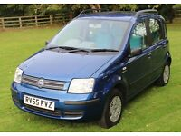 2005 /55 FIAT PANDA 1.2 AUTOMATIC - NEW MOT - FULL SERVICE HISTORY - 50+MPG - CHEAP INSURANCE