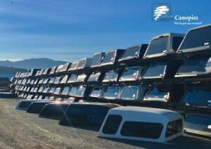 Used & New Truck Canopies - 450 in stock