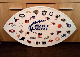 American Football NFL Large Metal Signs