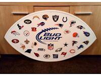 American Football NFL Large Metal Signs