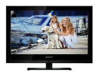 42 lcd freeview builtin tv with 2xhdmi inputs plus , usb scart and vga input