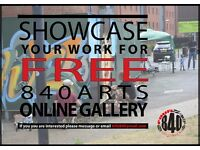 Showcase your art work for FREE