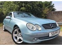 Mercedes CLK Automatic Low Mileage Full Year Mot No Advisorys Drives Great !!!