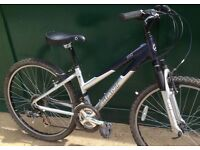 Giant Rock small frame lightweight ladies bicycle mountain bike cycle