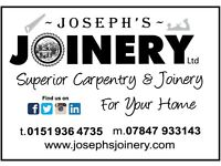 Joseph's Joinery Limited.. 'Carpentry & Joinery for your home'.