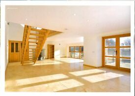 Large secluded country apartment .Overlooks woodland and pond