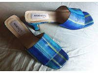 Gorgeous Manolos Elda Spanish sandals