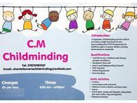 Childcare vacancies Monday-Saturday.
