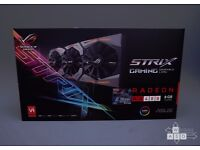 ASUS ROG STRIX Radeon Rx 480 8GB OC Edition graphics card