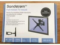 Sandstrom Full Motion TV Wall Mount