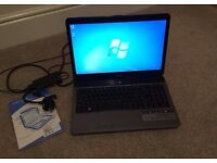 """Acer 15.6"""" laptop, Windows 7, SSD, great condition!"""