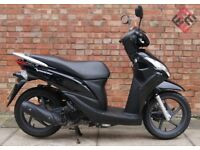 Honda Vision 110, Immaculate condition with Honda warranty