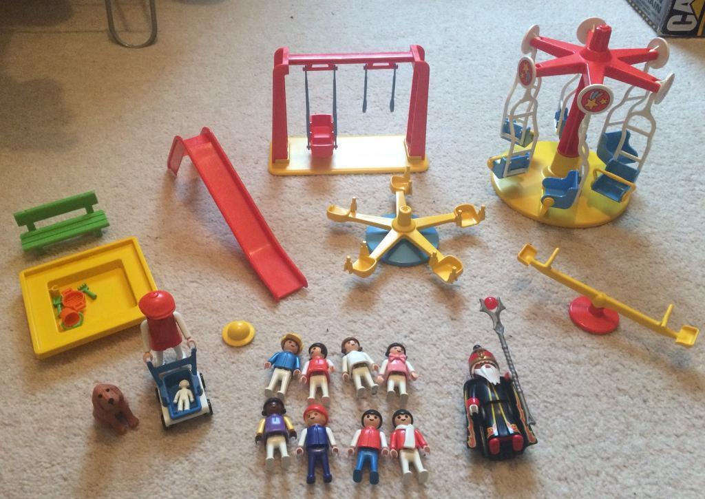 Playmobil play park set