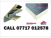 75mm Celotex and Xtratherm Foil sided Insulation board NEW 1200x 2400mm similar to Kingspan