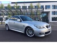 2008 (58) BMW 530D 3.0 M SPORT AUTO DIESEL HISTORY LOW MILEAGE 12 M WARRANTY AVAILABLE FOR EXTRA