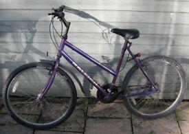 Ladies Raleigh Zing cycle - purple