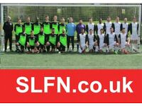 Teams looking for players, find football near Clapham Junction, play football in Wandsworth SOCCER