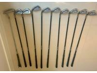 Ladies left handed Ping golf clubs