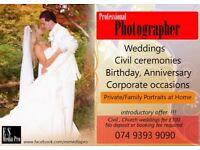 Civil ceremonies, Church weddings for only £100 !!!