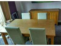 Cambridge Oak Dining Table Next Next Cambridge Light Dining Table