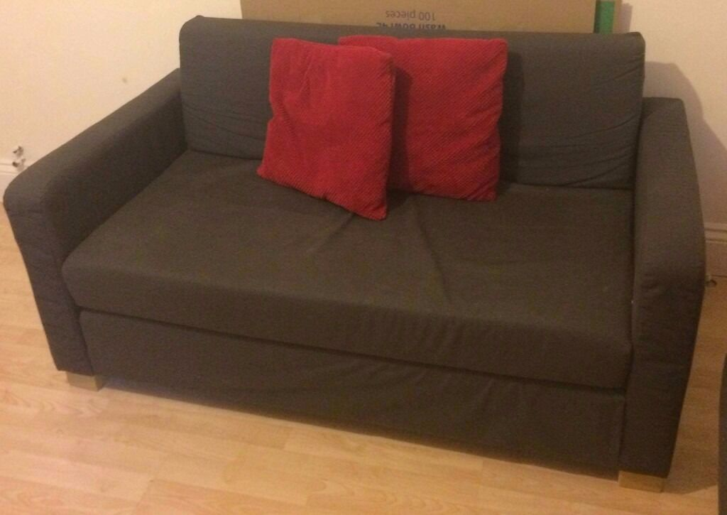 2 x Two-seat Sofa-bed