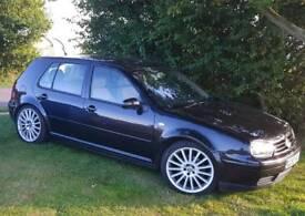 VOLKSWAGEN VW GOLF BLACK MANUAL GT 1.9 TDI 130BHP *LOTS OF EXTRAS*