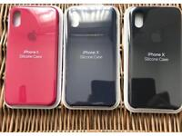 Brand new Apple IPhone X silicone case