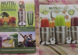 2 Brand New NutriBullet Recipe Books