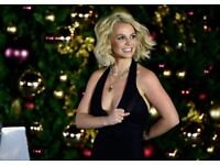 Britney Spears Tickets 2 or 4 GOING CHEAP Blk 103 row A FRONT ROW o2 Arena LON Sat 25th £210 a pair