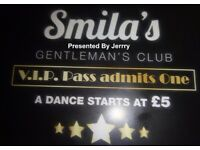 SMILAS - Gentlemans Club in Chinatown (formally Legs 11) Opens Friday 15th September