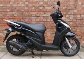 Honda Vision 110cc (65 REG), Excellent condition with low milege.