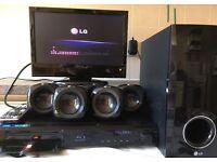 400W LG HB405SU 5.1ch 3D DVD Blu-Ray HD Home Cinema Theater System, USB, MP4, divx, HDMI, OPT