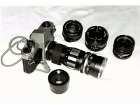 Pentex Camera and Lens